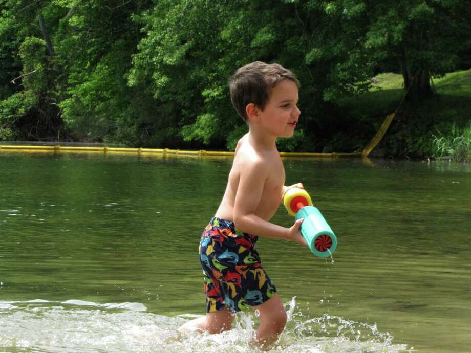 Were you seen at the lake in Sherman, CT on Wednesday, June 8, 2011? Photo: Vincent Rodriguez / The News-Times