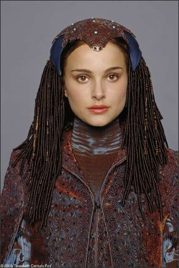 Portman as Senator Padmé Amidala in 2005's 'Star Wars: Revenge of the Sith.' Photo: Studio