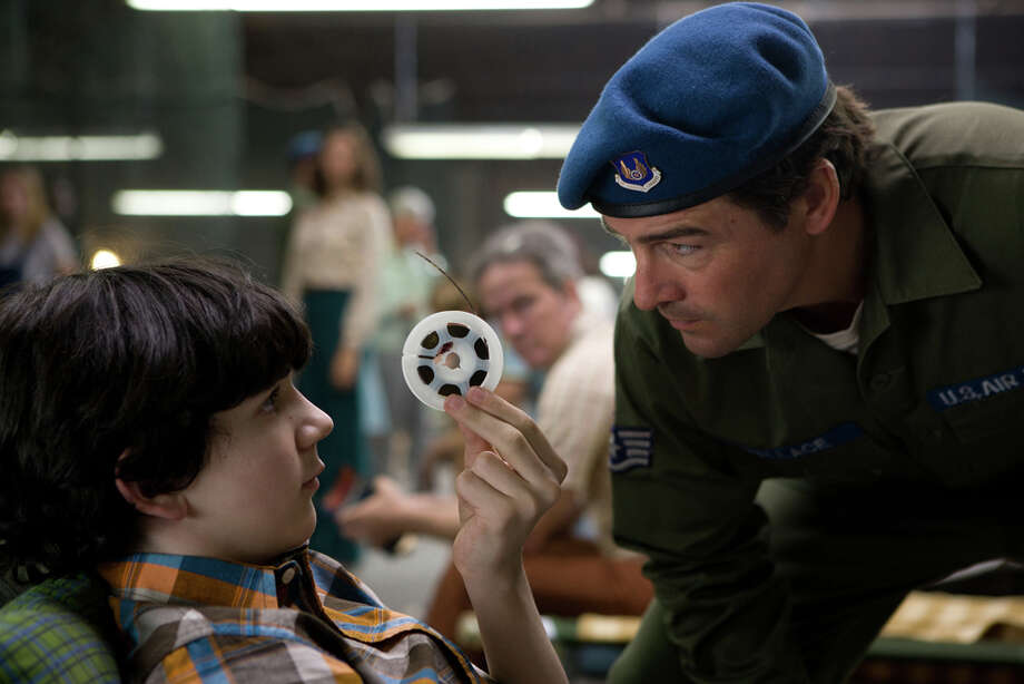 """From left: Zach Mills plays Preston and Kyle Chandler plays Jackson Lamb in """"Super 8."""" PARAMOUNT PICTURES / © 2011 Paramount Pictures. All Rights Reserved."""