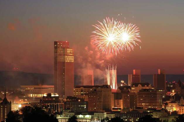 *** Runner-up ***  Name: Jason Deyette Category: Events  To me there is nothing more beautiful in the Capital Region than seeing the fireworks over Albany. Photo: Jason Deyette