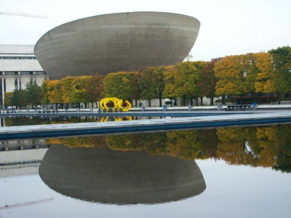 Becki Schongar, Rensselaer Category: Places Caption: The Egg- the place to be for performances, concerts, events and theater
