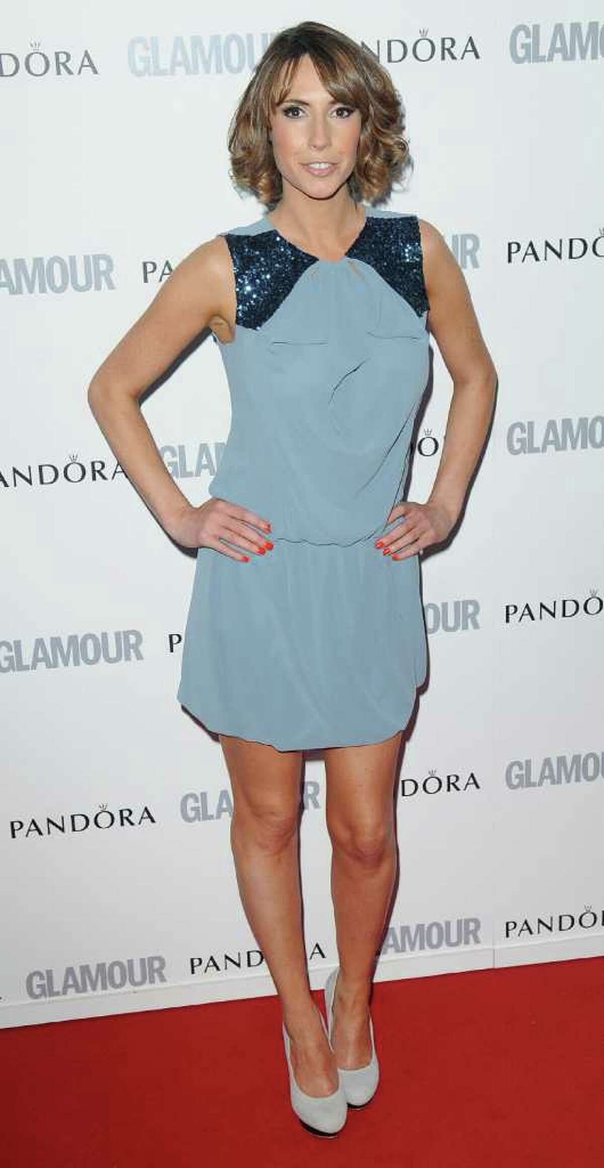 Alex Jones attends Glamour Women Of The Year Awards at Berkeley Square Gardens in London, England.
