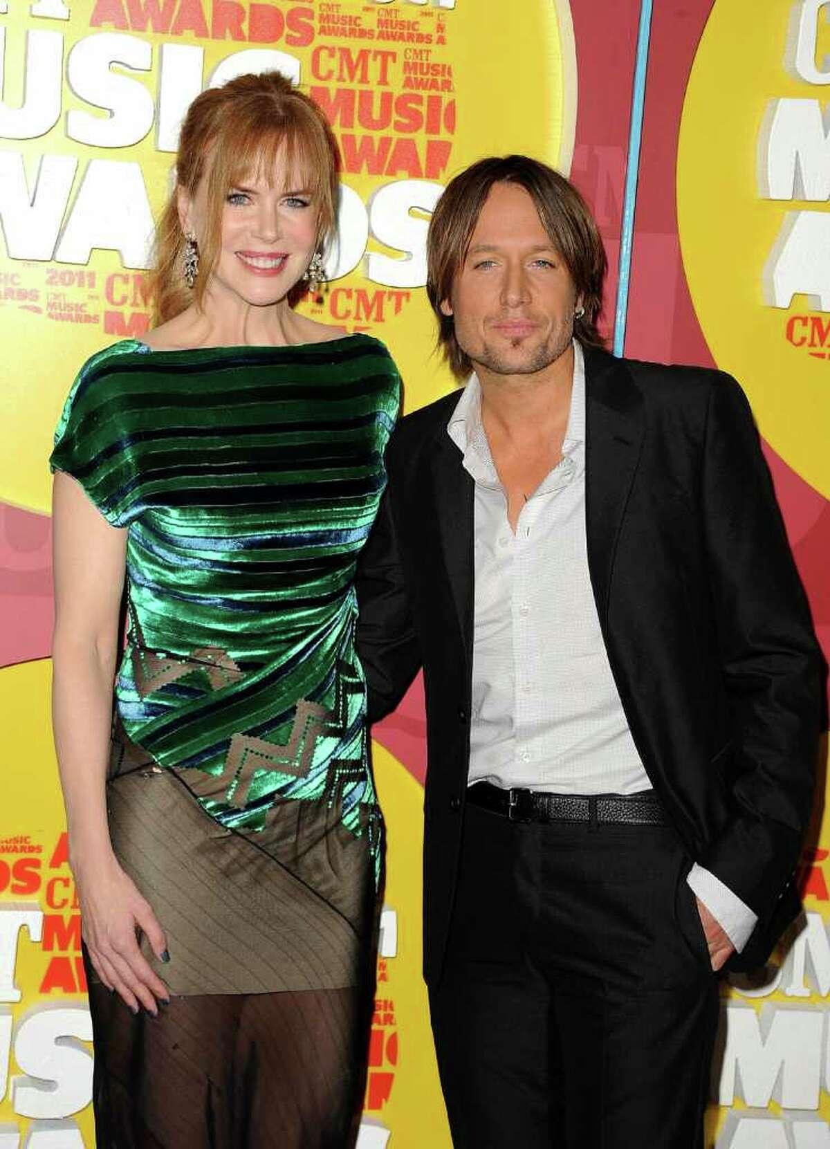 Actress Nicole Kidman and musician Keith Urban.