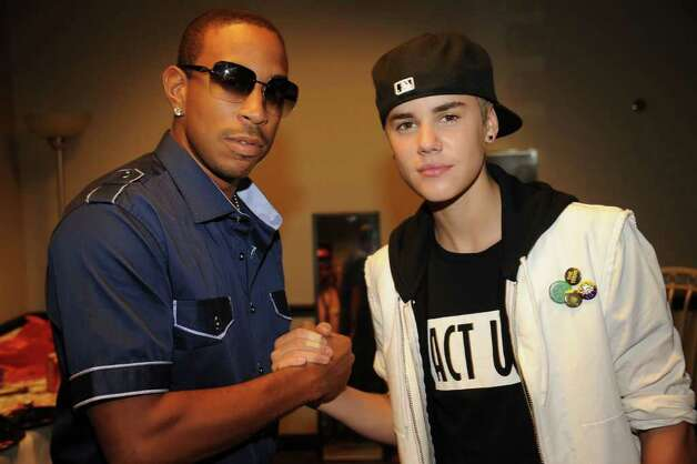 "NASHVILLE, TN - JUNE 08:  Recording artist Chris ""Ludacris"" Bridges and musician Justin Bieber attend the 2011 CMT Music Awards at the Bridgestone Arena on June 8, 2011 in Nashville, Tennessee. Photo: Rick Diamond, Getty Images For CMT / 2011 Getty Images"