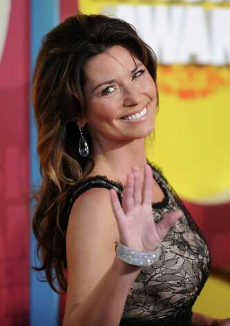 NASHVILLE, TN - JUNE 08:  Musician Shania Twain attends the 2011 CMT Music Awards at the Bridgestone Arena on June 8, 2011 in Nashville, Tennessee. Photo: Jason Merritt, Getty Images / 2011 Getty Images