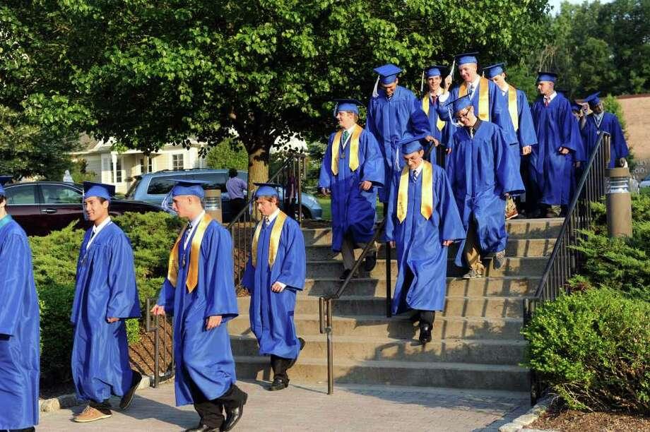 Immaculate High School graduation June 8, 2011 Photo: Carol Kaliff / The News-Times
