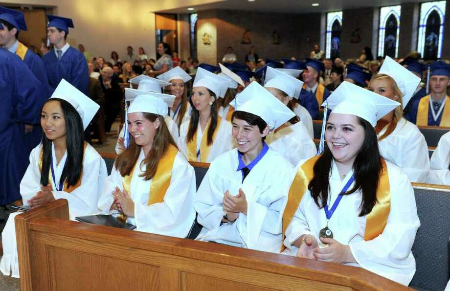 Immaculate High School graduation June 8, 2011 Photo: Carol Kaliff / The News-Times