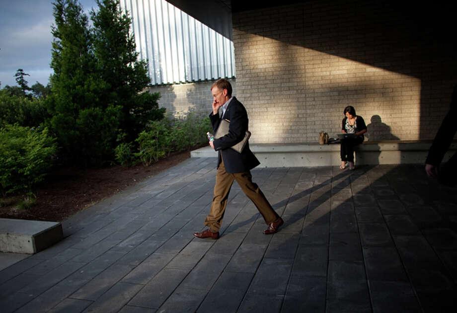 Rob McKenna announces his run for governor. / SEATTLEPI.COM
