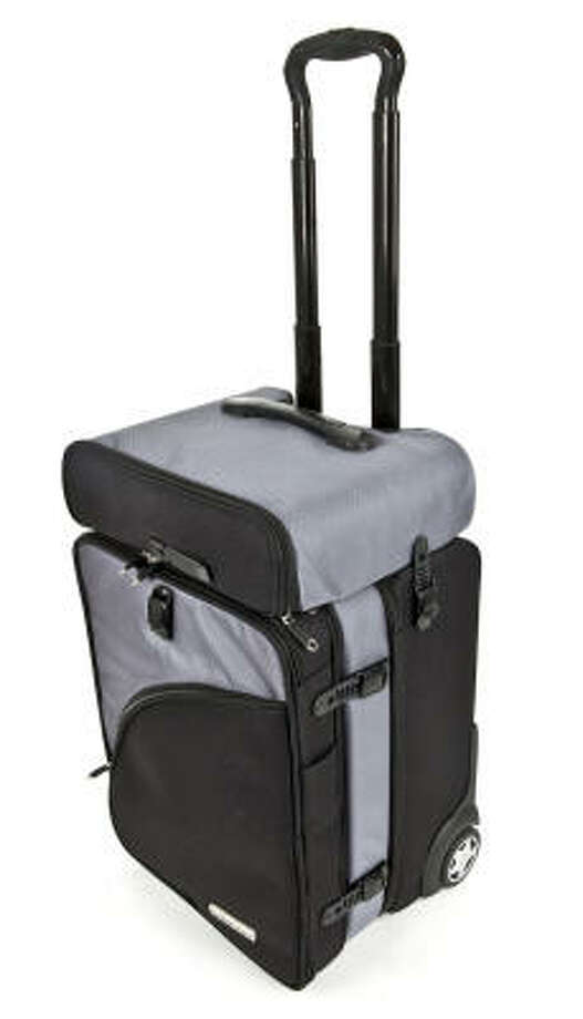 The Truco (Travel Utility Carry On) from Balanzza is three bags that fit together into a traditional carry-on roller. Photo: McClatchy-Tribune News Service