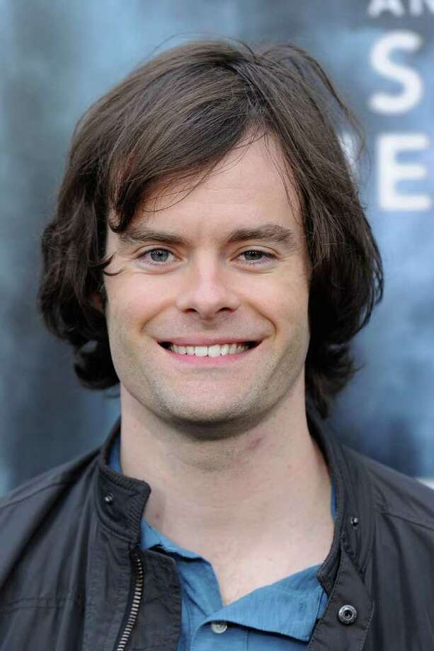 "Actor Bill Hader arrives at the premiere of Paramount Pictures' ""Super 8"" at Regency Village Theatre in Westwood, California. Photo: Frazer Harrison, Getty Images / 2011 Getty Images"
