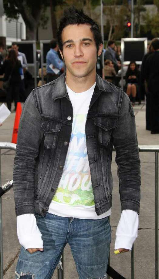 "Recording artist Pete Wentz attends the Premiere of Paramount Pictures' ""Super 8"" at the Regency Village Theater in Los Angeles, California. Photo: Frederick M. Brown, Getty Images / 2011 Getty Images"