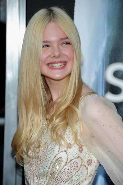 Actress Elle Fanning arrives at the premiere of Paramount Pictures'