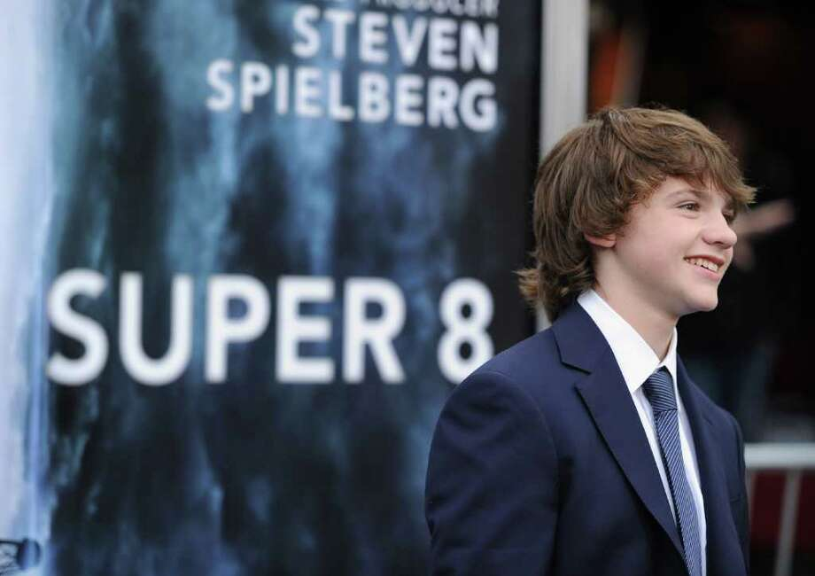 "Actor Joel Courtney arrives at the premiere of Paramount Pictures' ""Super 8"" at Regency Village Theatre in Westwood, California. Photo: Frazer Harrison, Getty Images / 2011 Getty Images"