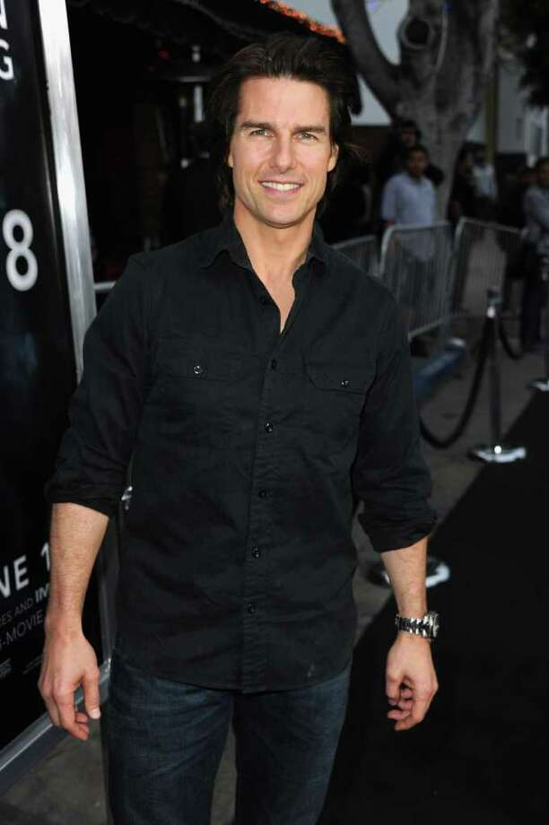 "Actor Tom Cruise arrives at the premiere of Paramount Pictures' ""Super 8"" at Regency Village Theatre in Westwood, California. Photo: Kevin Winter, Getty Images / 2011 Getty Images"