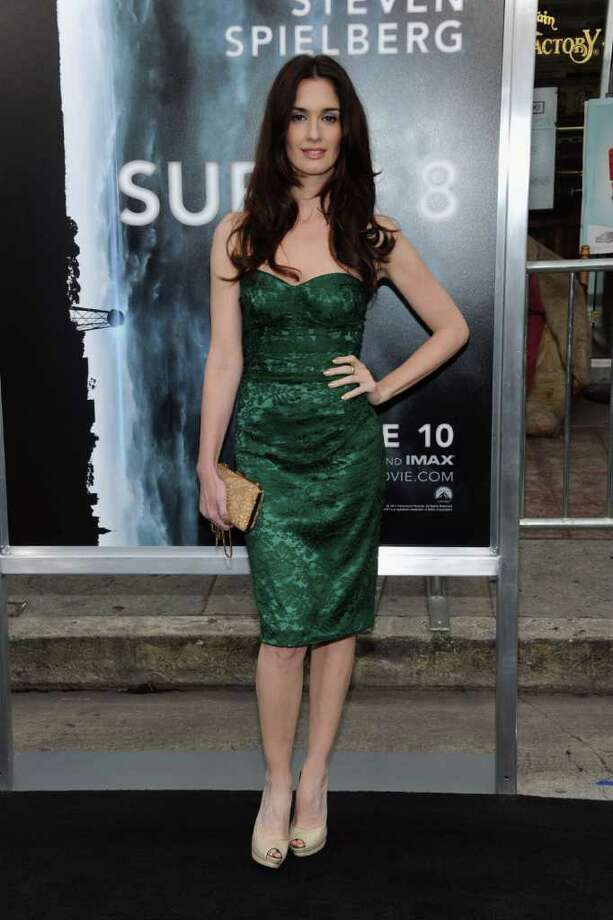 "Actress Paz Vega arrives at the premiere of Paramount Pictures' ""Super 8"" at Regency Village Theatre in Westwood, California. Photo: Frazer Harrison, Getty Images / 2011 Getty Images"