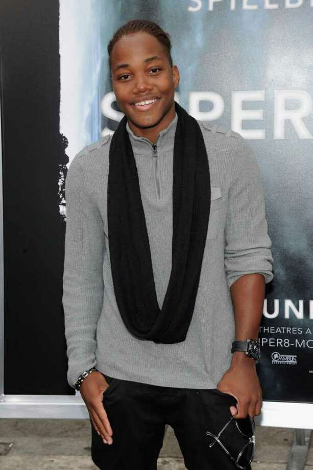 "Actor Leon Thomas arrives at the premiere of Paramount Pictures' ""Super 8"" at Regency Village Theatre in Westwood, California. Photo: Frazer Harrison, Getty Images / 2011 Getty Images"
