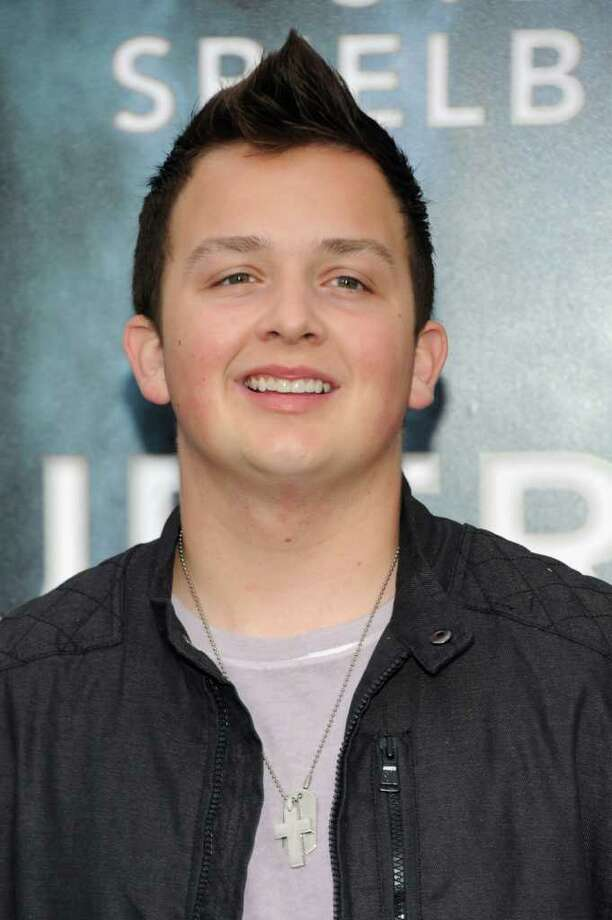 "Actor Noah Munck arrives at the premiere of Paramount Pictures' ""Super 8"" at Regency Village Theatre in Westwood, California. Photo: Frazer Harrison, Getty Images / 2011 Getty Images"