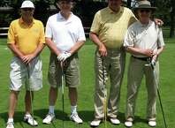 'Save the Park' champs  SPECTRUM/Capturing team laurels June 6, 2011 at Candelwood Valley Country Club in New Milford in the inaugural Save the Park golf tournament were, from left to right, Don Andrews, Mark Propper, Bert Boyce and Mike Regan.  Courtesy of the Friends of Harrybrooke Park