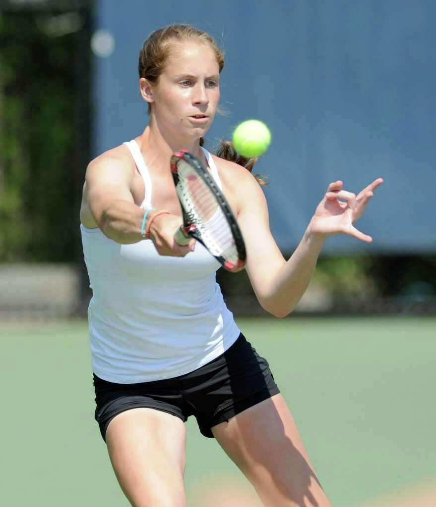 guerin repeats as state open tennis champion - westport news