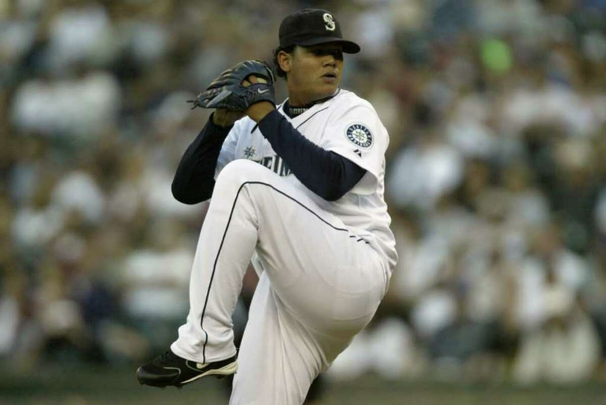 9. Felix Hernandez: King Felix hardly resembled royalty when he debuted as a slightly pudgy 19-year-old late in the 2005 season. He started 12 games that season and gave Mariners fans a glimpse of his future Cy Young-caliber arm. He went 4-4 with a 2.67 ERA and struck out 77 batters in 84.1 innings. He struggled a bit in his first full season in the majors in 2006, but improved each season and was the best pitcher in the American League in 2010.