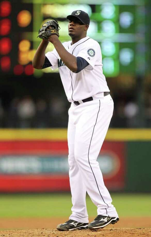 Mariners rookie right-hander Michael Pineda appears well on