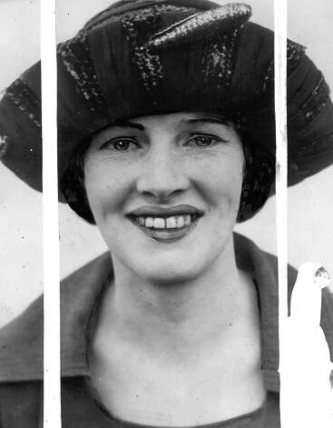 Roy Gardner's wife, Dolly, in Nov. 1921, shortly after Gardner was captured in Arizona. Photo: Seattlepi.com File