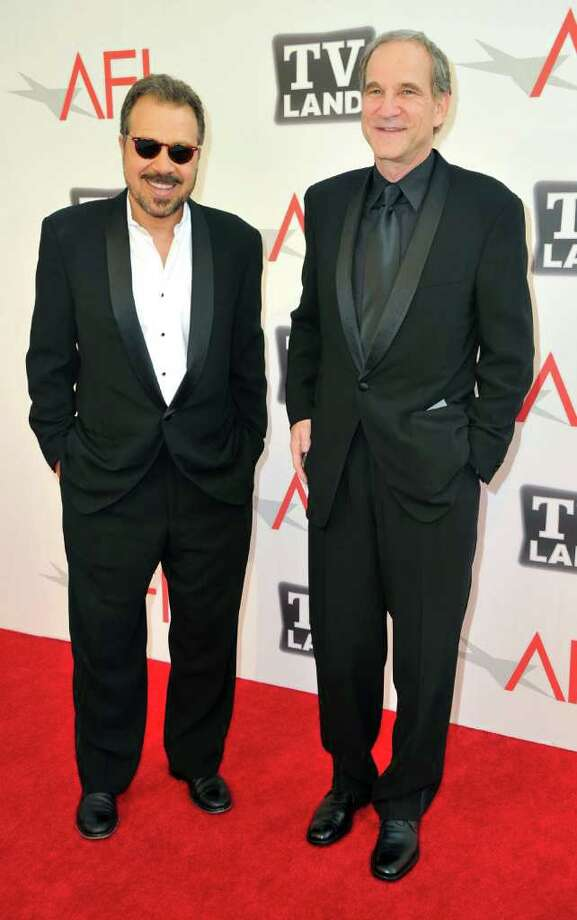 Director Marshall Herskovitz (R) and producer Edward Zwick arrive. Photo: Alberto E. Rodriguez, Getty Images / 2011 Getty Images