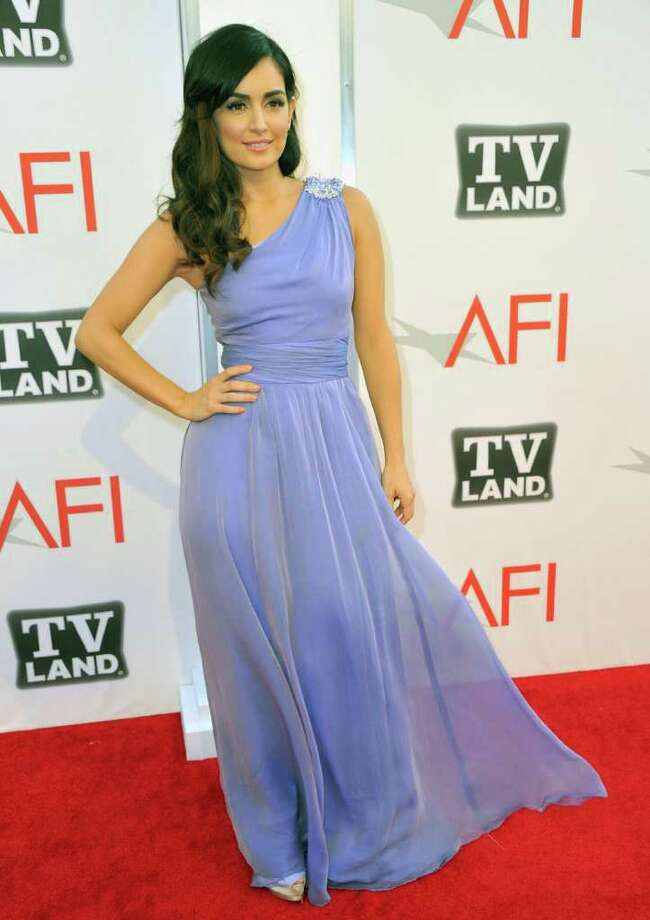 Actress Ana de la Ruguera arrives. Photo: Alberto E. Rodriguez, Getty Images / 2011 Getty Images
