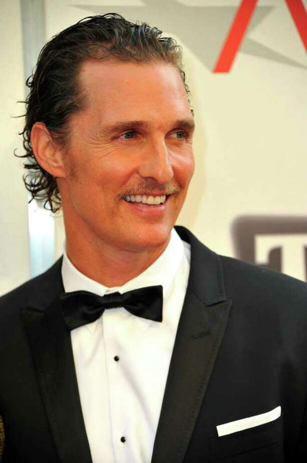Actor Matthew McConaughey arrives. Photo: Alberto E. Rodriguez, Getty Images / 2011 Getty Images
