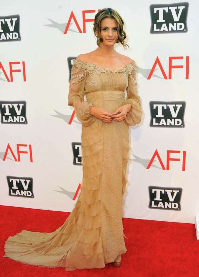 Actress Stana Katic arrives. Photo: Alberto E. Rodriguez, Getty Images / 2011 Getty Images