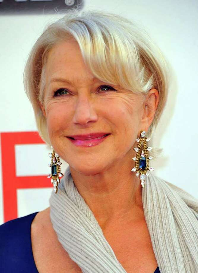 Actress Helen Mirren arrives.  Photo: Alberto E. Rodriguez, Getty Images / 2011 Getty Images