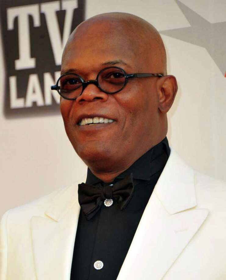 Actor Samuel L. Jackson arrives. Photo: Alberto E. Rodriguez, Getty Images / 2011 Getty Images