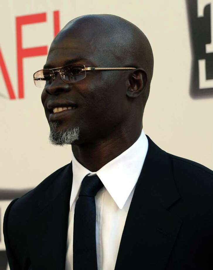 Actor Djimon Hounsou arrives. Photo: Alberto E. Rodriguez, Getty Images / 2011 Getty Images