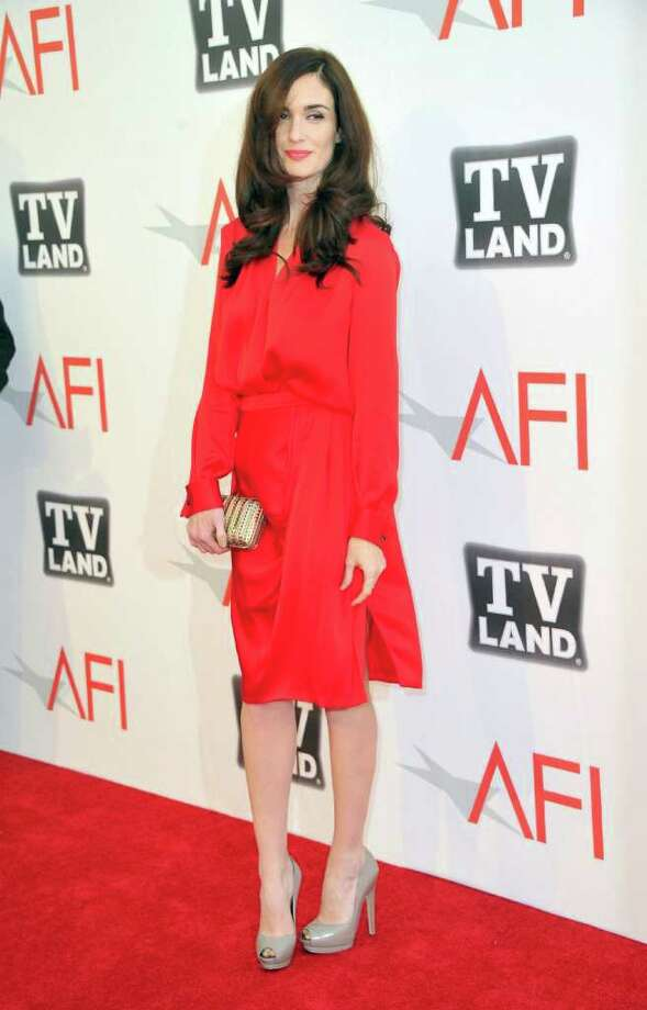 Actress Paz Vega arrives. Photo: Alberto E. Rodriguez, Getty Images / 2011 Getty Images