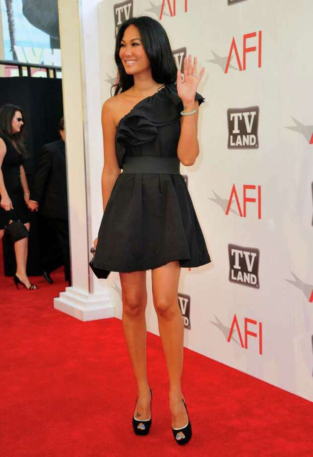 Designer Kimora Lee arrives. Photo: Alberto E. Rodriguez, Getty Images / 2011 Getty Images