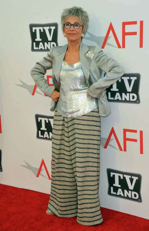 Actress Rita Moreno arrives. Photo: Alberto E. Rodriguez, Getty Images / 2011 Getty Images