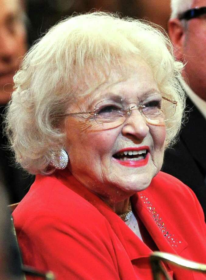 Actress Betty White in the audience. Photo: Frazer Harrison, Getty Images For AFI / 2011 Getty Images