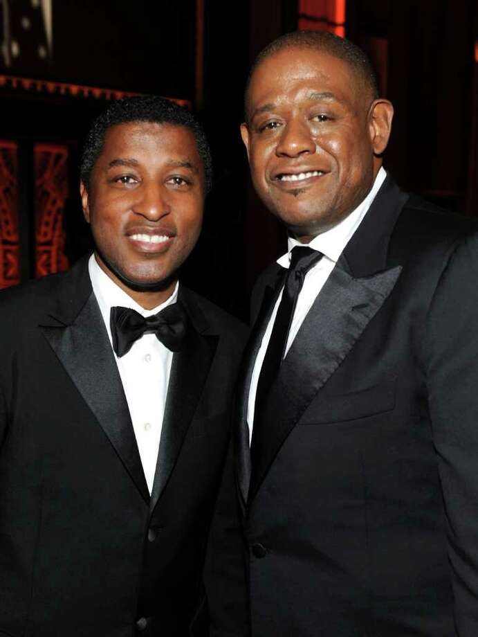 Kenneth 'Babyface' Edmonds (L) and actor/director Forest Whitaker. Photo: Frazer Harrison, Getty Images For AFI / 2011 Getty Images