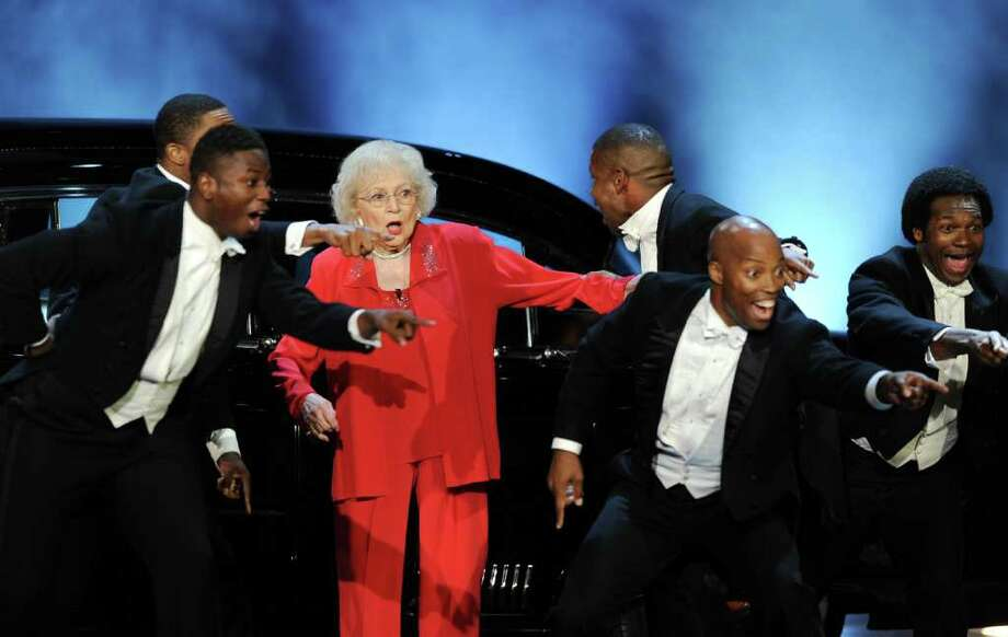 Actress Betty White performs onstage. Photo: Kevin Winter, Getty Images For AFI / 2011 Getty Images