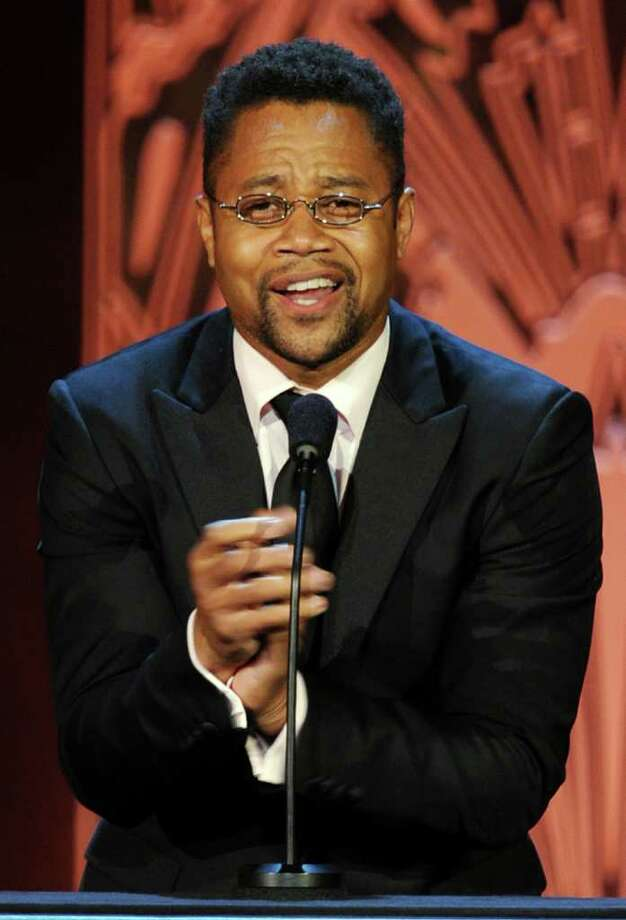 Actor Cuba Gooding Jr. speaks onstage. Photo: Kevin Winter, Getty Images For AFI / 2011 Getty Images