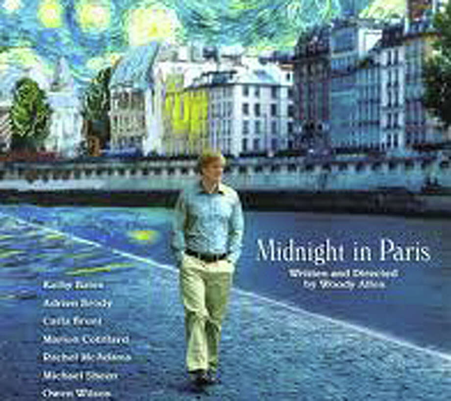 """Midnight in Paris,"" the new Woody Allen movie, is in movie theaters this weekend. Photo: Contributed Photo / Westport News contributed"