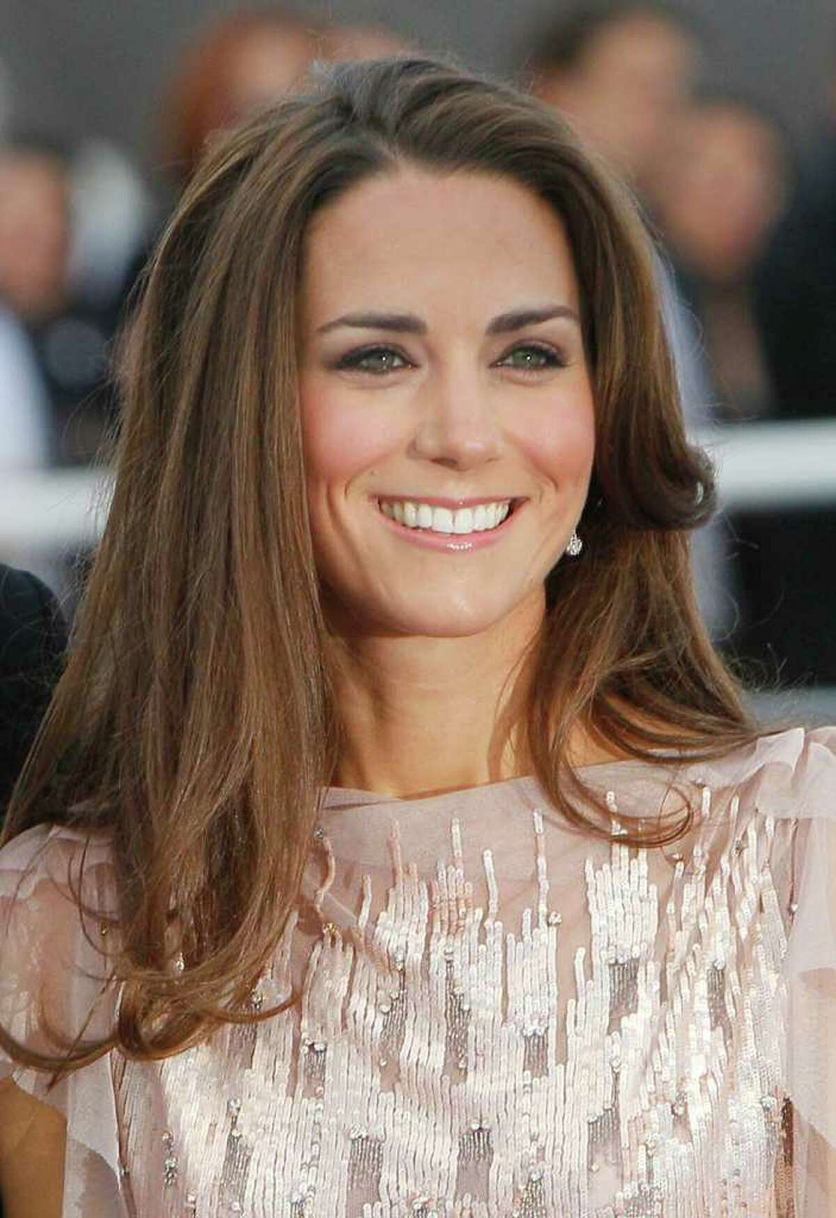 Kate, Duchess of Cambridge, wife of Prince William, arrives at a charity event for Absolute Return for Kids, ARK, in central London, Thursday, June, 9, 2011. The charity event is the first official engagement for the couple since they were married on April 29.