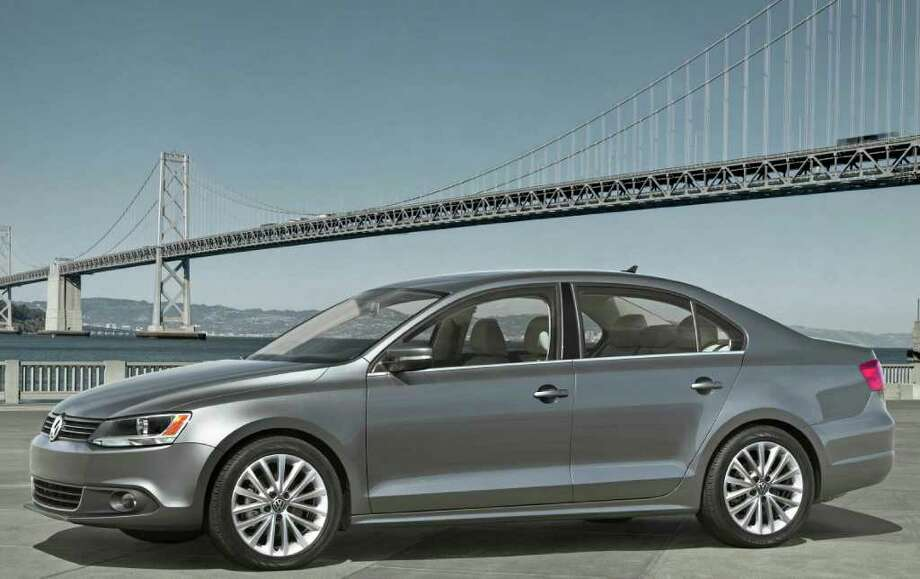 New midsize sedans such as the Volkswagen Jetta are great choices for a first car in part because the later models will have the latest and best safety gear. COURTESY OF VOLKSWAGEN OF AMERICA INC. Photo: Leica Camera AG, COURTESY OF VOLKSWAGEN OF AMERICA INC. / Leica Camera AG