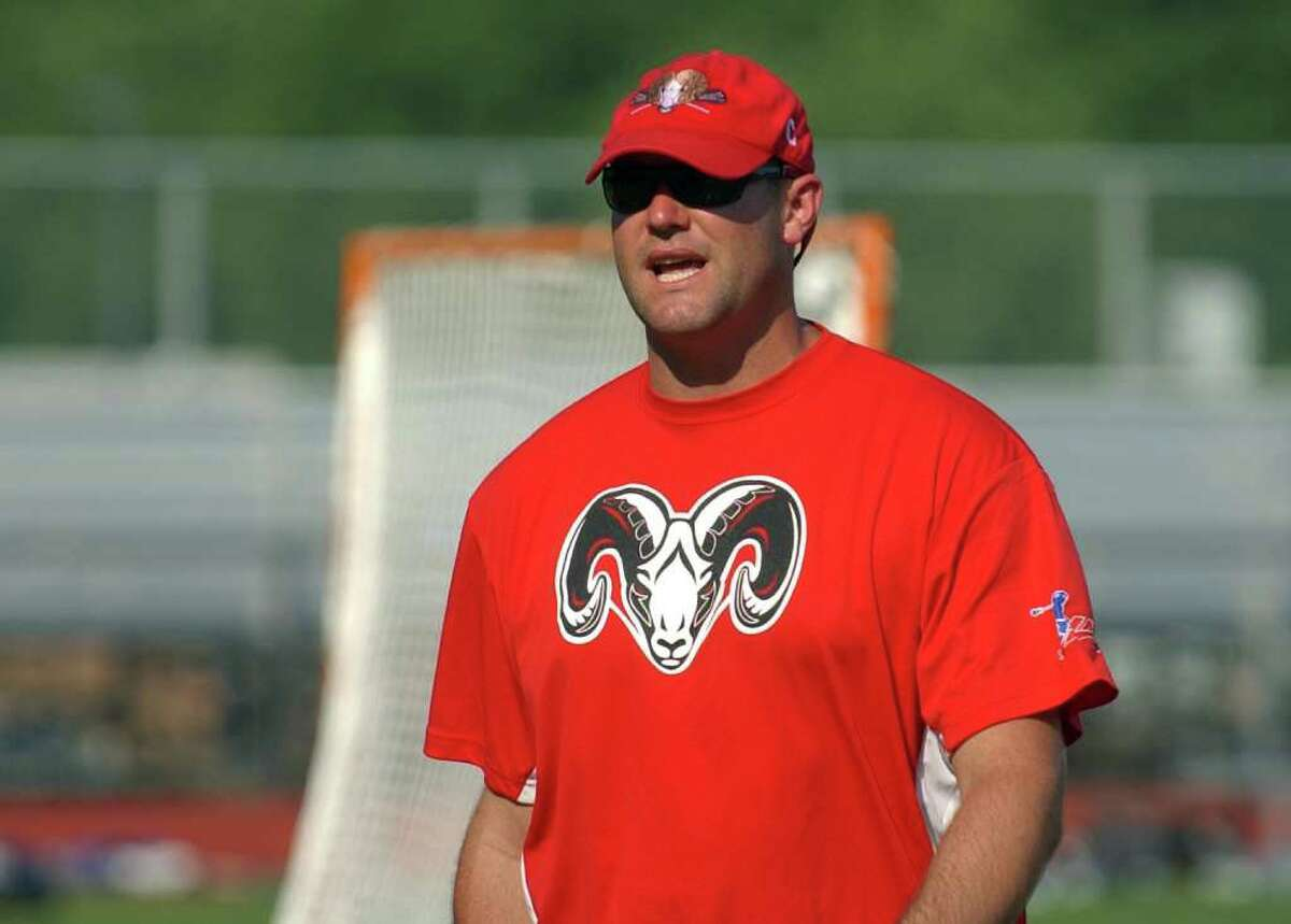 Highlights from CIAC Class M semifinal boys lacrosse action between New Canaan and New Fairfield at Fairfield Warde High in Fairfield, Conn. on Wednesday June 8, 2011. New Canaan Head Coach Alex Whitten.