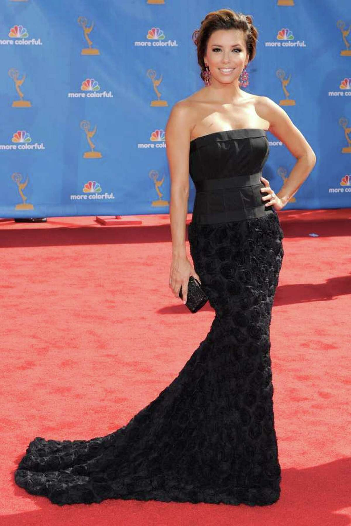 Actress Eva Longoria Parker attends the 62nd Primetime Emmy Awards Sunday, Aug. 29, 2010, in Los Angeles. (AP Photo/Chris Pizzello)