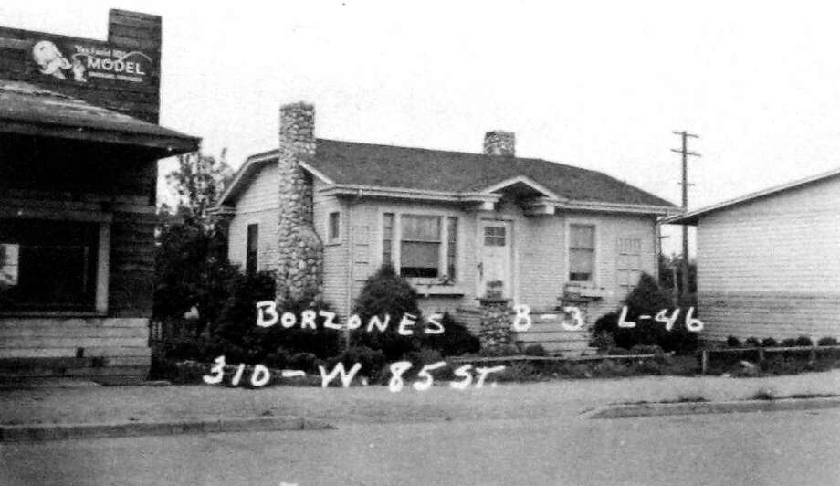 This image, taken by a county assessor, isn't dated. Numbers and other marks indicate the property description. Photo: Puget Sound Regional Branch Of The Washington State Archives