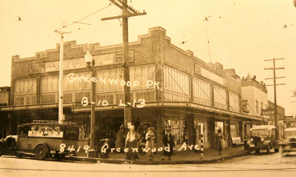 Seattle History Greenwood Now And Then Part 1