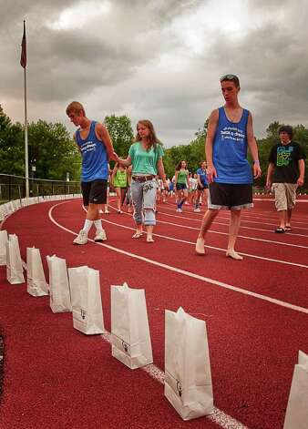 Ridgefield's Relay for Life held on June 10 went off without a hitch despite the heat. Photo: Mike Macklem / Hearst Connecticut Media Group