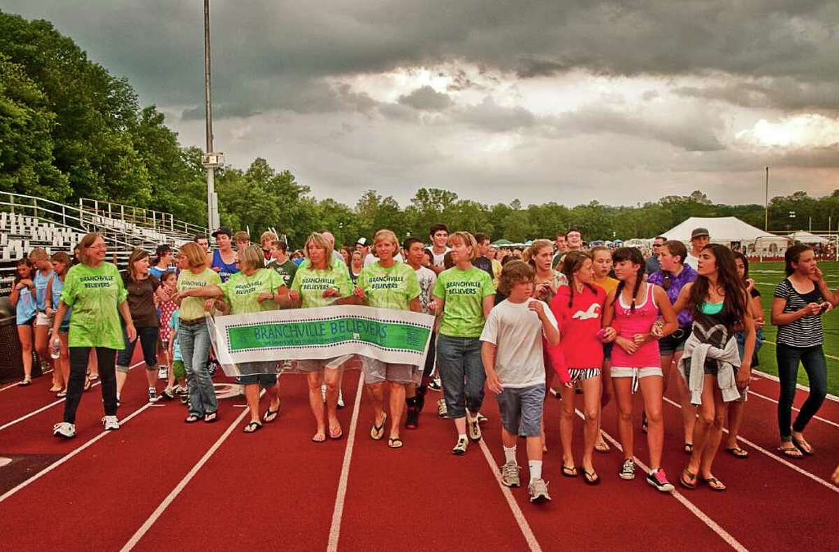 Ridgefield's Relay for Life held on June 10 went off without a hitch despite the heat.