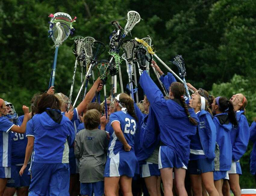 Highlights from Class M state tournament girls lacrosse action between Darien and Daniel Hand in Stratford, Conn. on Saturday June 11, 2011.